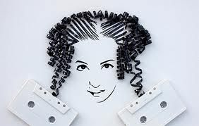 cassette tape art - Google Search