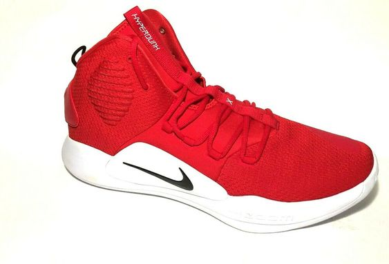 Nike Hyperdunk X Basketball Shoes Mens 14 University Red AT3866-603 #Nike #BasketballShoes
