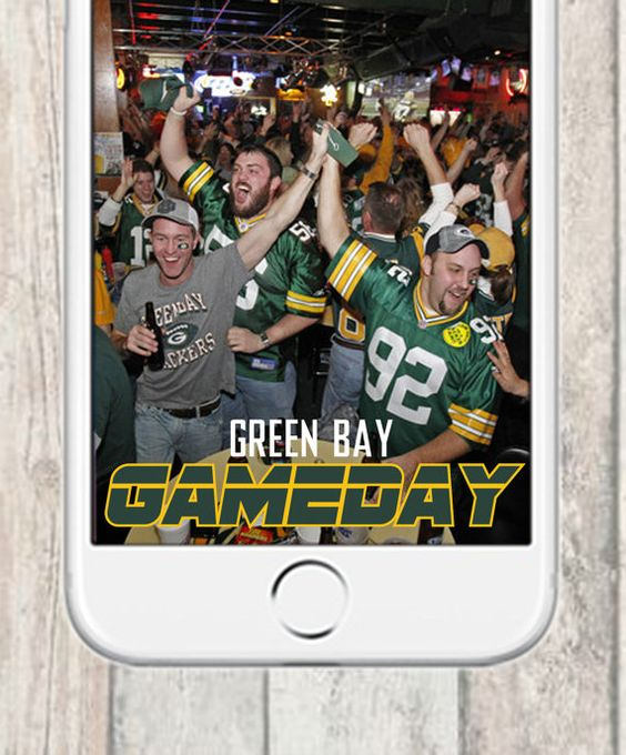 Green bay packers snapchat