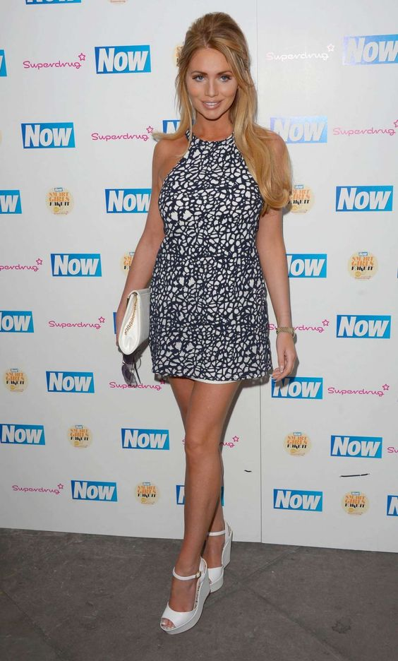 Amy Childs – Now Smart Girls Fake It Campaign With Superdrug Solait Launch Party In London 10 JUN, 2015