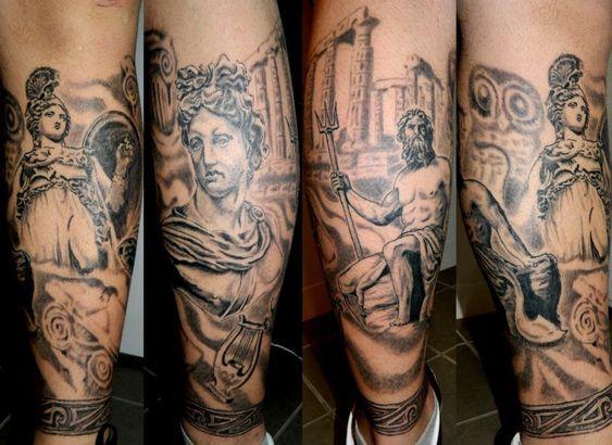 Pinterest the world s catalog of ideas for Greek sculpture tattoo