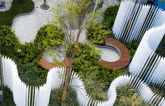Gallery Of Hyperlane Linear Sky Park Aspect Studios 9 Public Garden Architecture Urban Landscape Design Landscape Architecture Design
