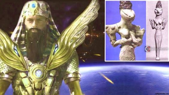 The History of Sumerian Gods Usumgal: The Gods who created the Anunnaki - Infinity Explorers