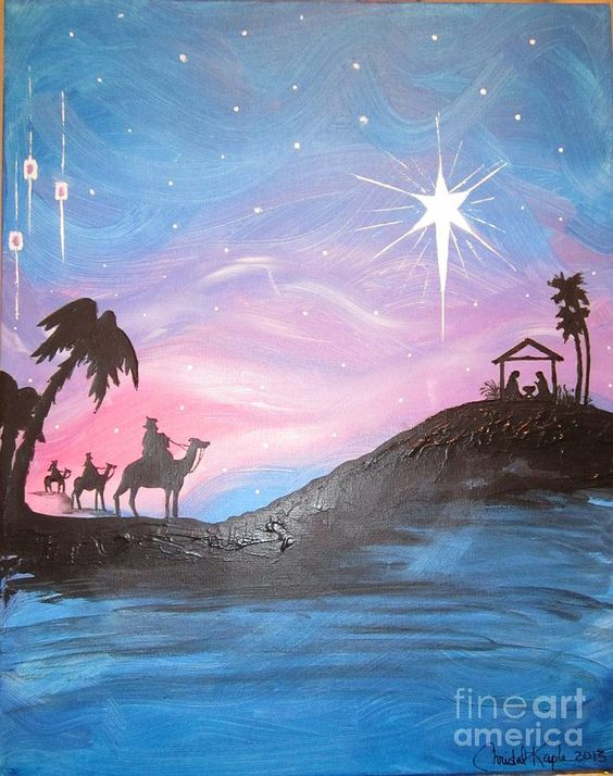 Nativity Painting  - Nativity Fine Art Print