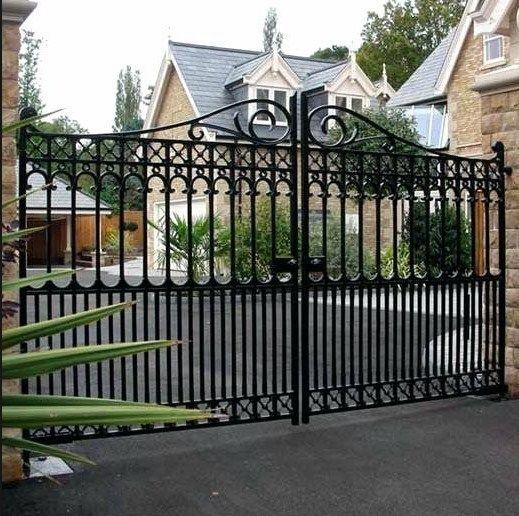 Modern Driveway Gates Wrought Iron Gates Custom Driveway Gate
