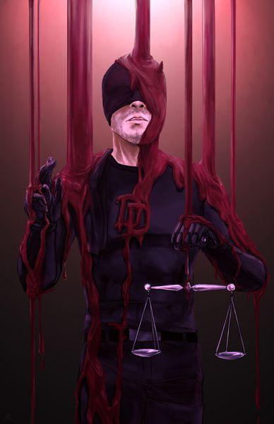 Daredevil/Salvator Lex Art Print