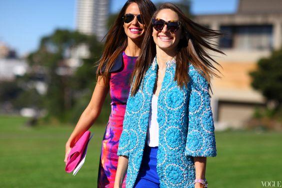 Sydney Fashion Week: embroidered statement jacket