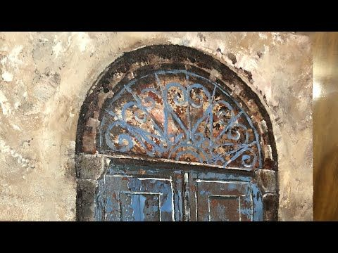 رسم أبواب قديمة تعتيق How To Paint Old Doors إيمان المغربي Youtube Decor Home Decor Furniture
