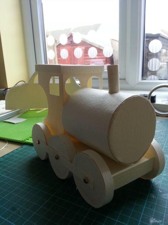 train in progress