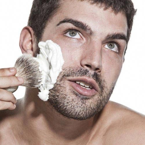 Spa Foodie: DIY Hot Lather Shaving Cream #men #spa #cheapmassagetables