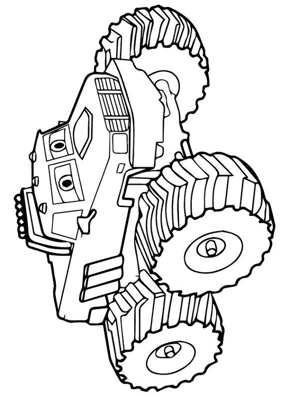 Coloring, Monster trucks and Coloring pages on Pinterest