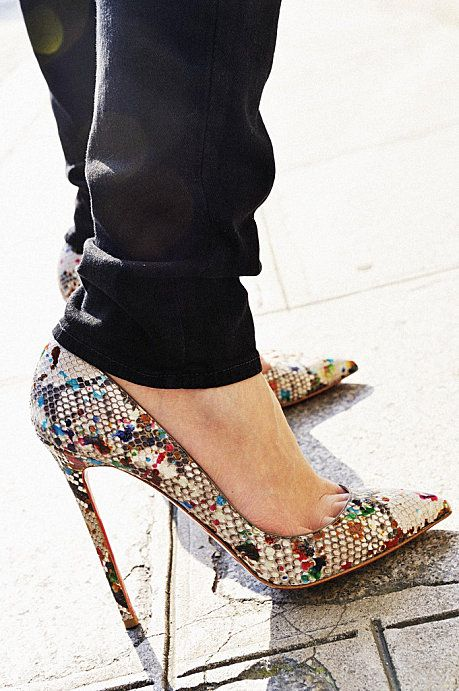 louboutin love... I have NEVER wanted another pair of shoes as much as I want these... UGH