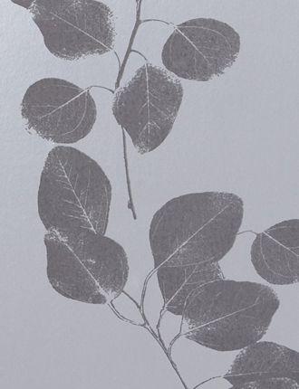 Silver/GreyLeaf wallpaper by Jocelyn Warner - Silver/Grey JWP-211