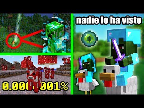 10 Cosas Mas Raras Que Te Puedes Encontrar En Minecraft Youtube Minecraft Trucos De Minecraft Minecraft Youtube