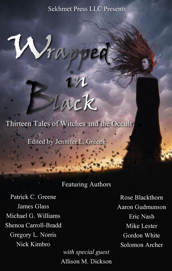 The COVER! #WrappedInBlack Coming October 18, 2014 http://www.amazon.com/Wrapped-In-Black-Thirteen-Witches/dp/1502512378/ref=as_sl_pc_ss_til?tag=patcgre-20&linkCode=w01&linkId=G2NYRMQW43REJIOO&creativeASIN=1502512378
