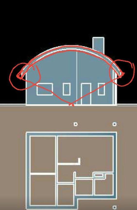 3- نمذجة السقف المائل (أو المنحني)   كما يجب http://architectural-disegno.blogspot.com/2016/10/4.html: