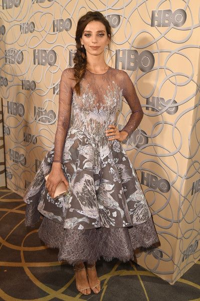 Actress Angela Sarafyan attends HBO's Official Golden Globe Awards After Party.