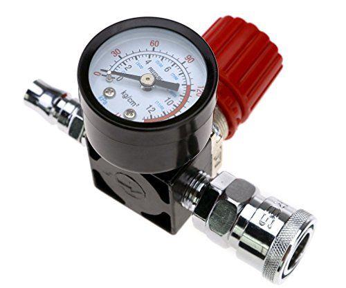 Air Compressor 1 4 Pressure Regulator Gauge 140psi Control Valve Compressor 1 4 Pressure Regulator Gauge 140psi Control Valve