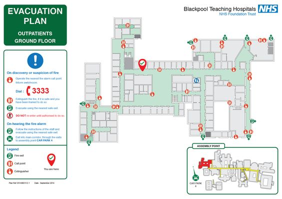Example school evacuation plan by emergency planning specialists - evacuation plan templates