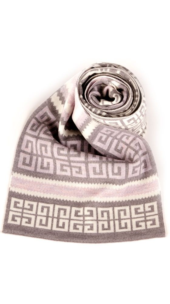 Knit Logo Scarf - Looking ahead for cold weather, love the soft colors