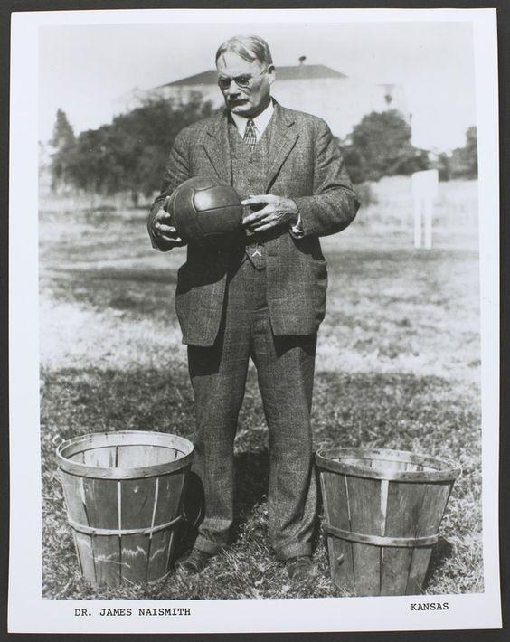 Dr. James Naismith- invented basketball