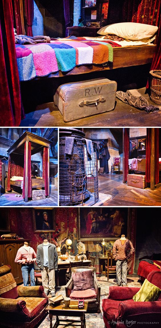 The Griffindor Dormitory and Common Room. Where is this? How do I get to there? And why don't they have heads?