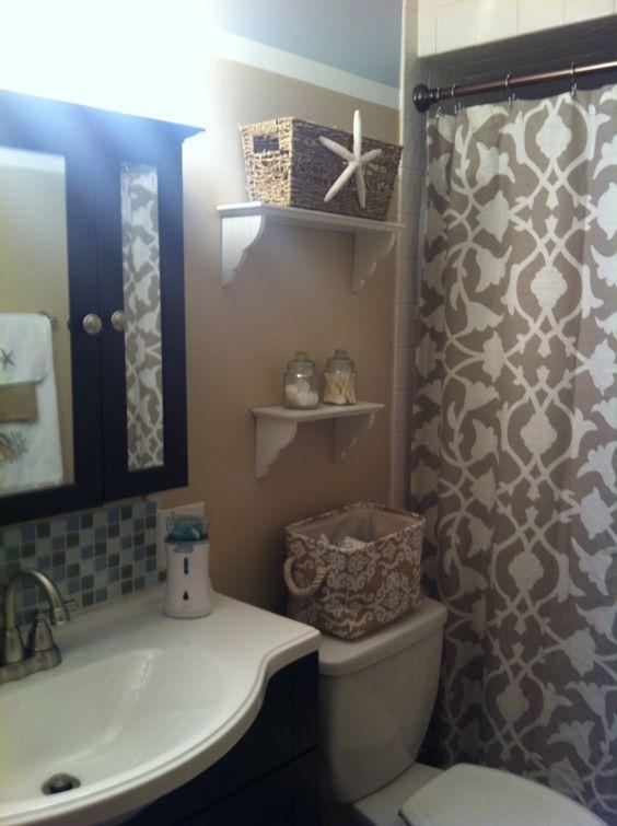 Beach Theme Bathroom Bathroom Pinterest Jars Beach Theme Bathroom And Towels