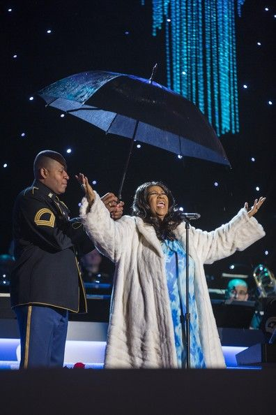Aretha Franklin - First Family Attends National Christmas Tree Lighting
