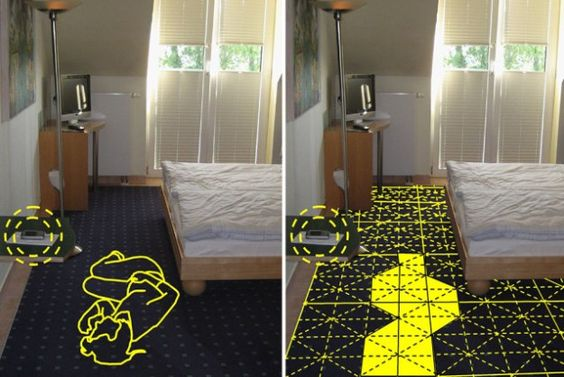 Conductive Rug Creates A Home Monitoring System - PSFK