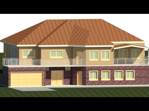 Revit Architecture: Modern House Design #6   YouTube