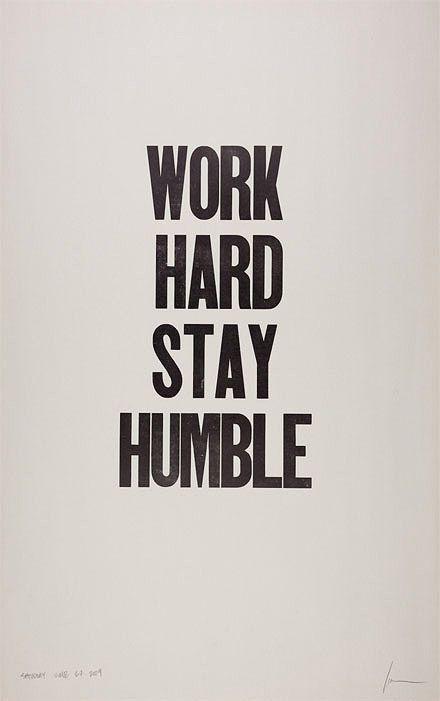 humility.