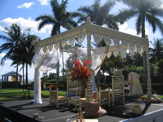 Mandap - like the structure, just get rid of the curtain