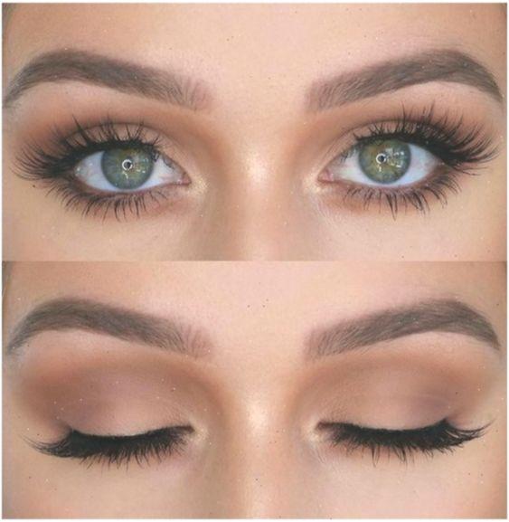 Eye Makeup For Green Eyes | Makeup Looks For Green Eyes #makeup #simplemakeup