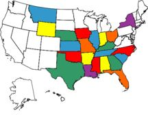 Map Of The States Ive Been Too Definitely Need To Mark Off A Few - Us states i ve been to map