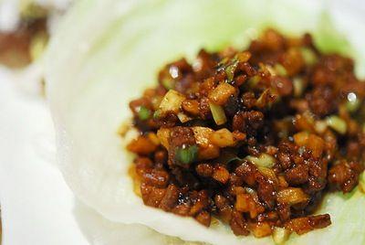 lettus wraps :D: Yummy Food, Pfchangs, Chang S Lettuce, Wraps Recipe, Chicken Lettuce Wraps, Pf Chang S, Lettuce Wrap Recipes, Copycat Recipe, Pf Changs Lettuce Wraps