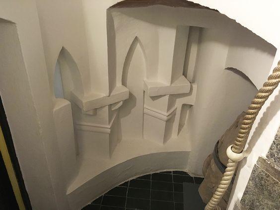 Элемент внутренней архитектуры Кафедрального собора. Фото: Evgenia Shveda