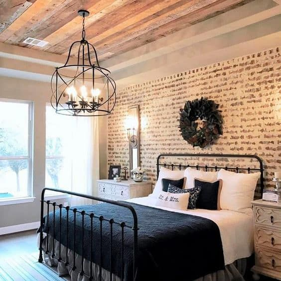 10+ Black farmhouse bedroom lamps ideas