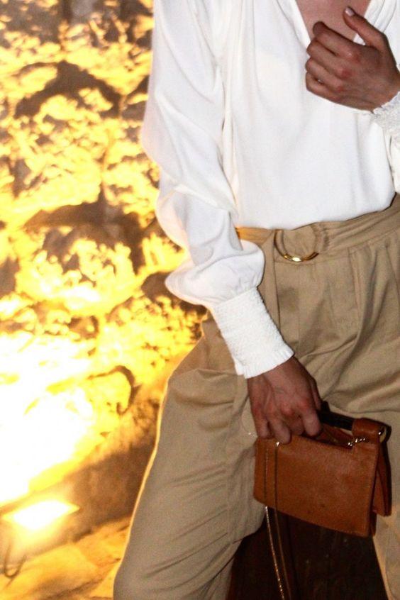 Zara Pants #pants #zara #highwaisted #tailliertehose #mango #minibag #clutch #beige #natural #olsen #style