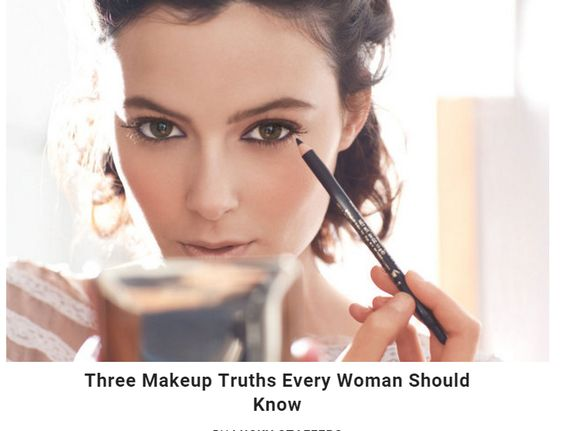 Three Make-up Sectrets...