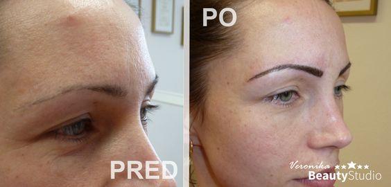 """Permanent Make-up Augenbrauen, Veronika Kocianová - eine Spezialistin für Permanent Make-up. http://permanentmakeup2014.de/ und http://www.beautystudioveronika.de/. Unterstützen Sie das Projekt von Veronika Kocianová """" Verschönerung von Frauen mit einer Krebserkrankung : GRATIS !"""
