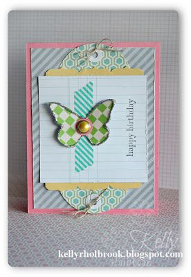 Washi, butterfly