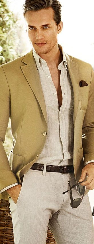 The Top Men's Suit Trends to Watch Out for This Summer. #mensfashion #menswear #menstyle