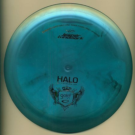 Probably the prettiest Latitude 64 disc I've ever seen: Midnight Swirl Mix 174 Gold Line Halo
