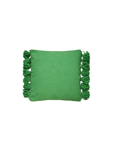 Tassel Pillow By Kate Spade New York Hover View With Images Tassel Pillow Designer Pillow Designer Throw Pillows