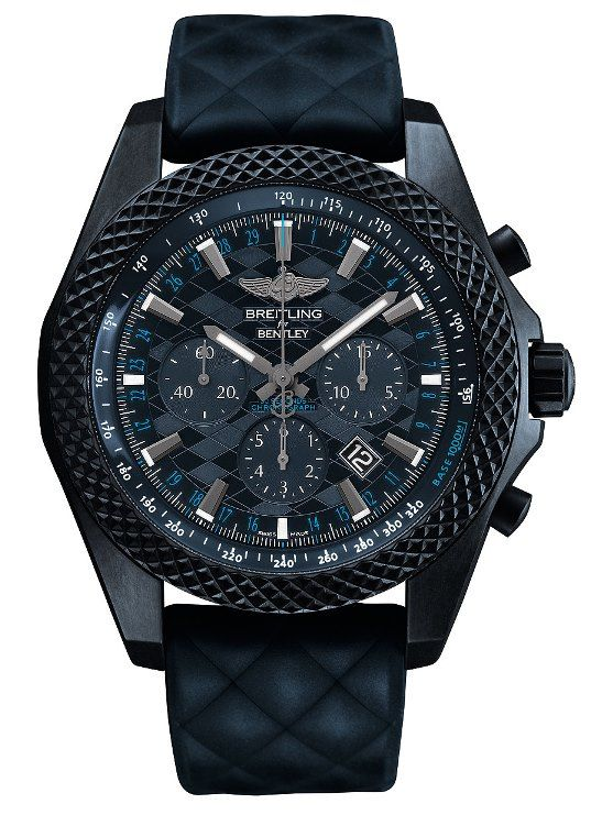"Thumbnail - Introducing Breitling Bentley GT ""Dark Sapphire"" Edition Luxury Watch"