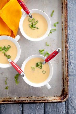 Creamy Cheddar Soup Recipe — Pauladeen.com