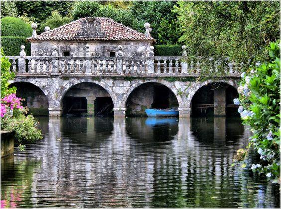 """Un """"Versalles"""" en Galicia (Pazo de Oca). A 30 km de Santiago  Los 25 lugares para morir de amor por Galicia"""