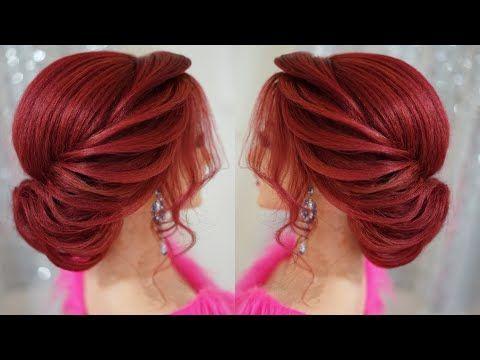 Gorgeous Wedding Hairstyle Youtube Hair Styles Wedding Hairstyles Videos Waterfall Braid Hairstyle