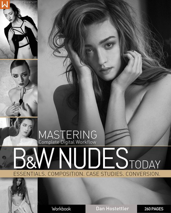 Last 24 Hours to grab Mastering B&W Nudes eBook from Dan Hostettler at flat 50% off