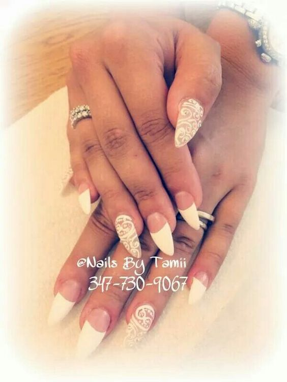 Wedding type nails